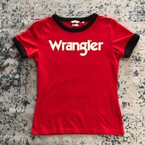 Vintage style Wrangler T-shirt